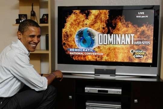 Obama likes Twin Flames Media Website Design
