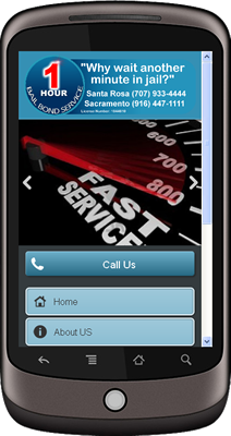 Sacramento 1Hour Bail Bonds Mobile Site.fw