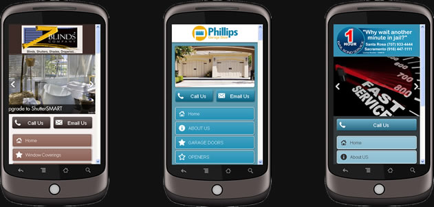 Sacramento Mobile Website Design